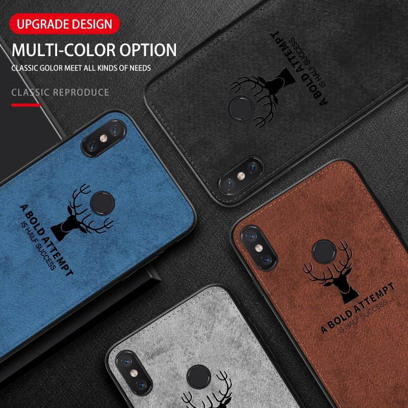 Image # 6 of Review เคสXiaomi Mi 9 9T 8 8se 8lite 6 A1 A2 Lite Max3 Pocophone F1 Case Cloth Fabric Deer Phone Cover