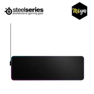[ลดเพิ่ม 3%]Steelseries QcK Prism Cloth RGB Gaming Mouse Pad - XL