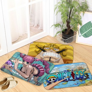 Cartoon Home Decoration One Piece Pattern Door Mat Entrance Pad Anti-sli