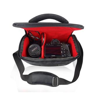 กระเป๋ากล้อง Camera Mirrorless Bag Canon SLR Camera Bag Covers Shoulder Bag Casual Waterproof Backpack พร้อมส่ง ราคาถูก