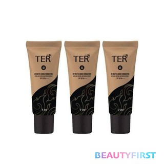 Review [3 ชิ้น] TER UV Matte Liquid Foundation SPF50 PA+++ 7 ml