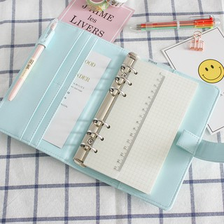 Macaron Notebook Refill Leaf A5/A6 Loose Replacement Binder Planner