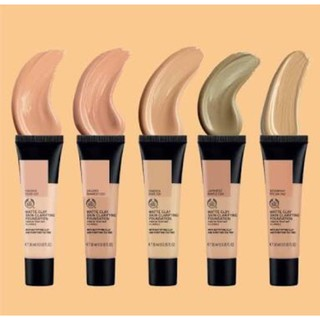 Review The Body Shop Matte Clay Skin Clarifying Foundation