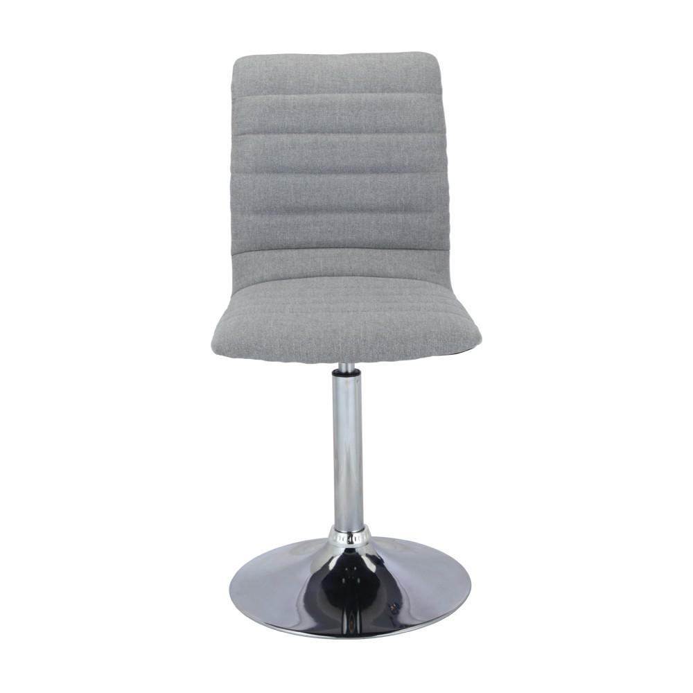 WINNER FURNITURE เก้าอี้ทานอาหาร รุ่น P-ฮาแบ๊ท ขนาด 42 X 55 X 91 ซม. - สีเทาอ่อน