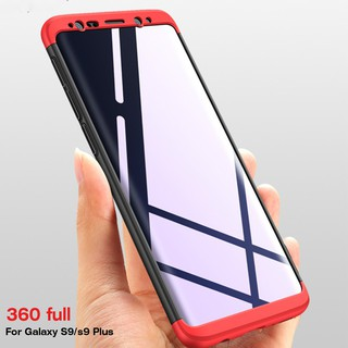 Review เคส samsung galaxy S10 Lite S9/ S9 Plus C9 Pro 360 Full Hard Hybrid Plastic Protection Case