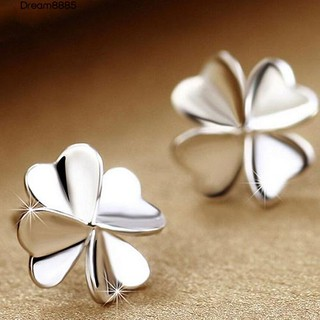 Review DREAM   Flower Earrings 925 Sterling Silver Ear   Jewelry