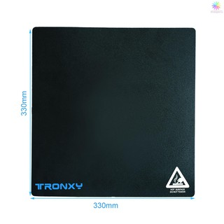 Ready Stcok Tronxy Heated Bed Sticker Sheet Build Surface High Temperature Resistant 330*330mm/13.0*13.0in for 3D Printer Hotbed