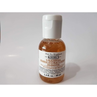 Image # 1 of Review Kiehl's Calendula Herbal Extract Toner Alcohol-Free 40ml
