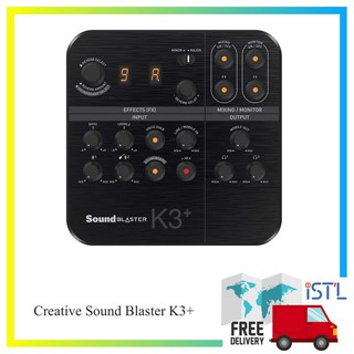 Review Creative Sound Blaster K3+ Hi-Res Audio Interface Mixer