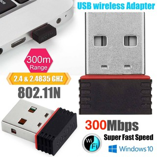 USB 2.0 Wireless Wifi Adapter 802.11N 30
