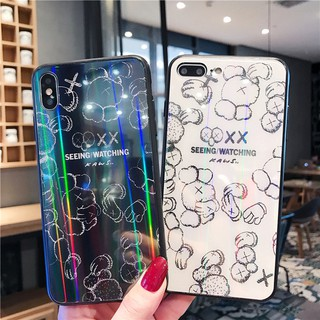 Review Aurora Tempered Glass Phone Case Vivo X27 X23 X21 IQOO Vivo Y17 Y3 V15 V11 Y97 Y93 Y85 V9 Y83 Y79 Y75 Y71 Y67 Cover