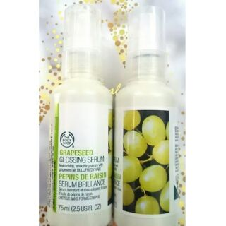 Review The Body Shop Grapeseed Glossing Serum ผลิต 03/2018