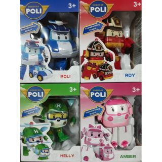 Review ROBOCAR POLI SET4คัน
