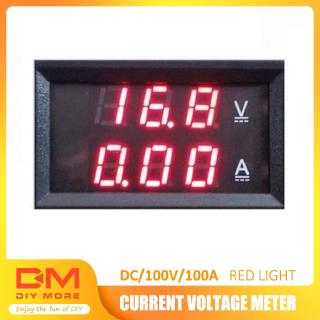 Review DIYMORE | Voltmeter Ammeter DC 100V 100A  LED Amp Dual Digital Volt Meter Gauge