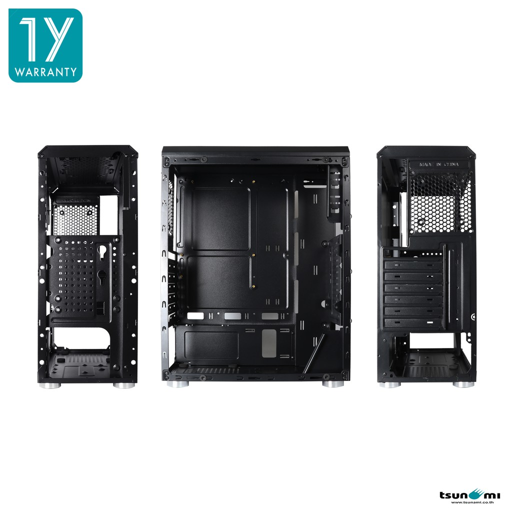 Image # 8 of Review Tsunami Galaxy G8 Tempered Glass ATX Gaming Case