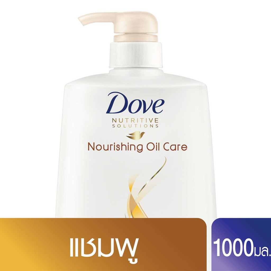 Dove Shampoo Nourishing Oil Care Gold 1000 ml UNILEVER