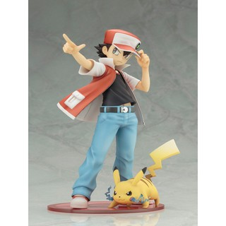 Review ️ashleg️Kotobukiya Pocket Monsters Pokemon Ash Ketchum with Pikachu Action Figure