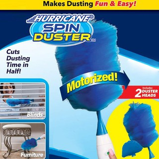 Spin Duster Electric Dusting Duster Cleaning Duster Electric Feather Duster Dusting 360 Degree Rotating Dust Removal