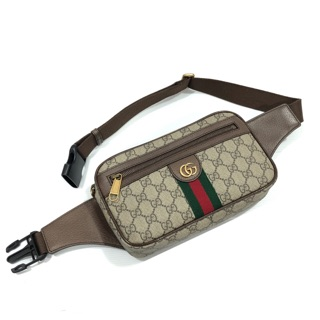 Review GUCCI Ophidia GG belt bag