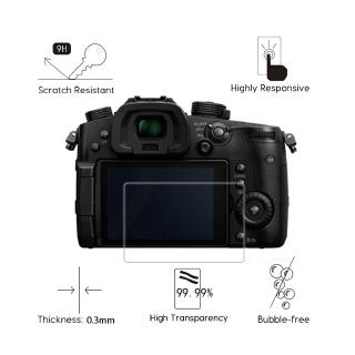 2PCS For Panasonic Lumix DC-GH5 GH5S DC-FZ82 FZ80 DWC-GX85 Clear Tempered Glass Screen Prote