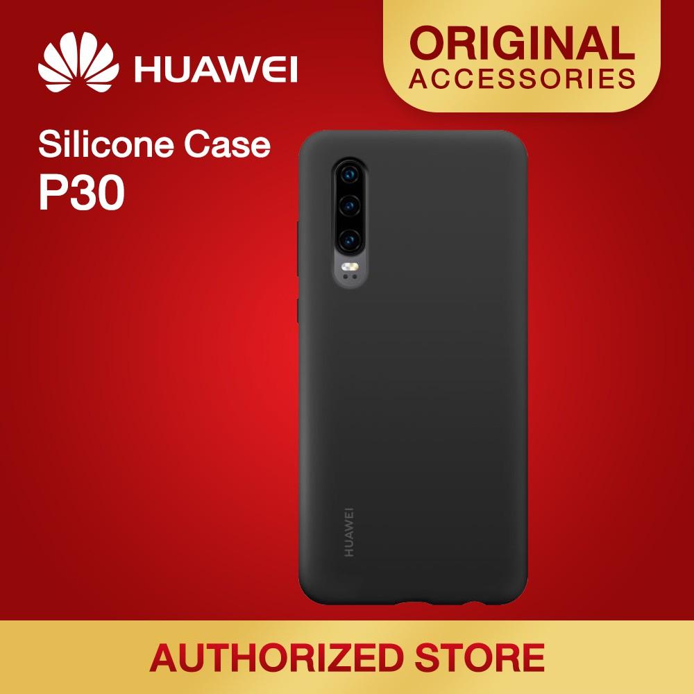 HUAWEI P30 Silicone Car Case มีให้เลือก 6 สี
