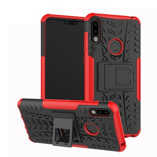 Review Asus Zenfone Max Pro M2 ZB631KL ZB601KL ZB570TL Case Dual Layer Armor TPU+PC Shockproof Phone Cover กรณี