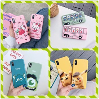 Review Cartoon Cat kitty TPU Snoopy Soft Case Vivo V7plus V5s V9 Y55 Y91 Y71 Y83 V11i Y95 Y93 Y85 Y81 v5PLUS a3s a5 F11 A37 F9