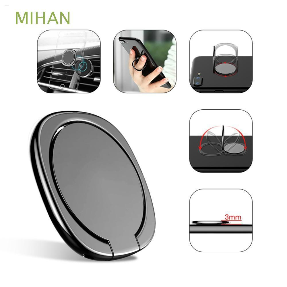 The best Desk Holder Metal Bracket Ultra Thin Finger Ring Magnetic Mobile Phone Stand Car Mount