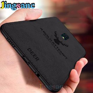 Review For Realme X Case PC Cloth Soft Edge Soft Fabric Silicone Protective Phone Cover