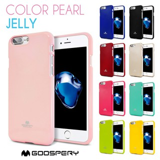 Review MERCURY® เคส iPhone 6 Plus/7 Plus/8 Plus เคสแบบนิ่ม Goospery Pearl Jelly Case (Mercury แท้💯%)
