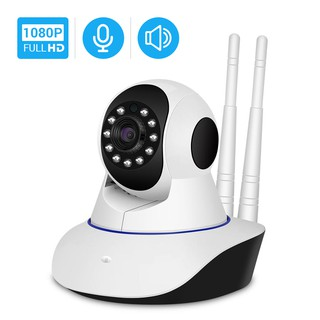 Hamrol Wireless IP Camera 1080P WiFi Night Vision Audio Video Surveillance Camera P2P ICse