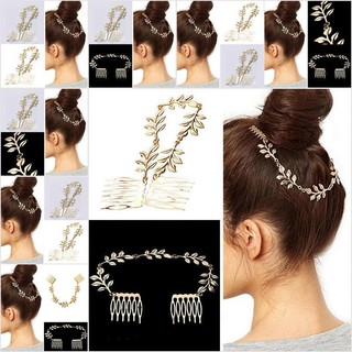 Review 【thim•HEE】Fashion Charm Women Metal Head Chain Headband Headpiece Hair Band Co