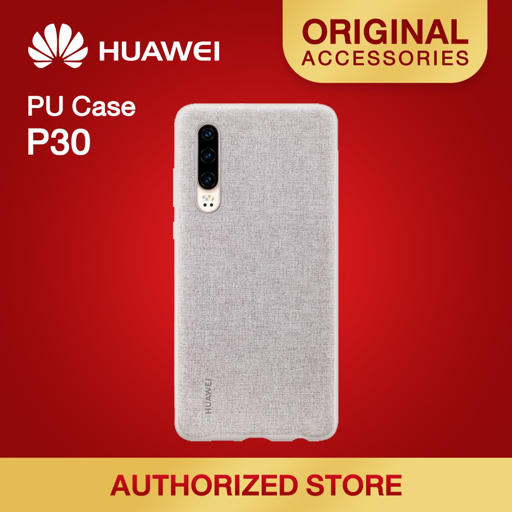 HUAWEI P30 PU CASE มีให้เลือก 2 สี