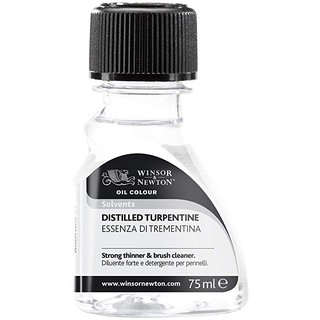 Winsor and Newton Distilled Turpentine 75ml