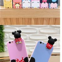 Image # 6 of Review เคส Huawei P9  P9plus P10plus iphone 6 6s 6plus 7plus vivo V5s ฝาหลังทีพียูการ์ตูนปีนจอ Mickey Minnie Mouse Donald Duck