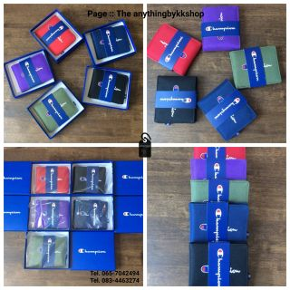 Review Champion Short Wallet กระเป๋าตังค์ใบสั้น แบบพับ