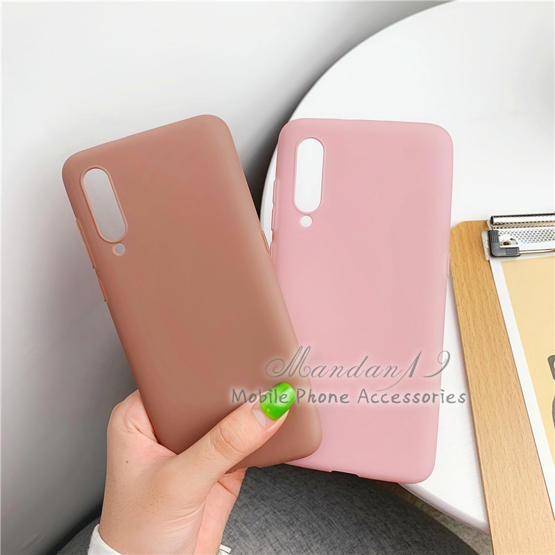 Image # 7 of Review กรณี Casing Xiaomi Redmi S2 Note 6 Pro Note 7 Mi A2 Lite Plain Rubber Matte Candy Soft Case