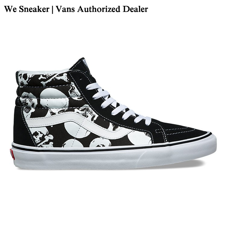 Image # 0 of Review 【VANS】SK8 (Hi) - Skulls/Black/True White การันตีของแท้ 100% by www.WeSneaker.com : VANS Authorized Online Dealer