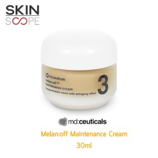 Review [ พร้อมส่ง ]  BEST SELLER   Mdceuticals melan:off maintenance cream 30g  PREMIUM ️exp date 3/2022
