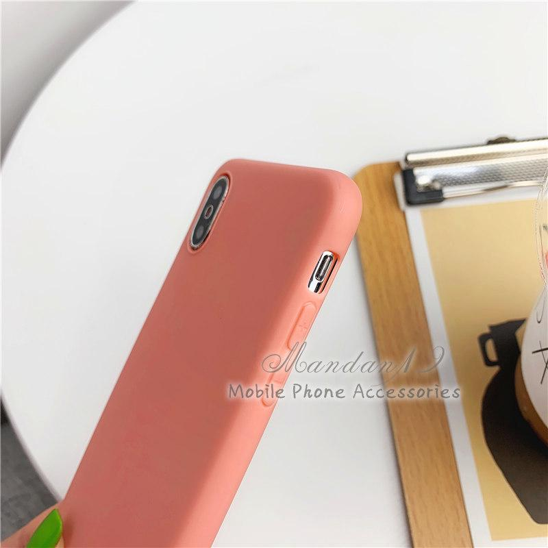 Image # 5 of Review กรณี Casing Xiaomi Redmi S2 Note 6 Pro Note 7 Mi A2 Lite Plain Rubber Matte Candy Soft Case
