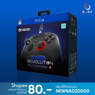 Nacon : Revolution Pro Controller 2 for PS4/PC (Black) **ประกัน 2