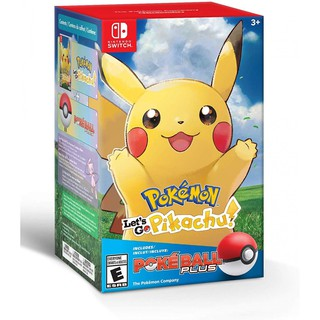 Review NSW POKEMON: LET'S GO PIKACHU + POKE BALL PLUS PACK (US)