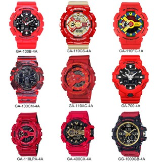Review 【HOT RED】Casio G-Shock Wrist Watch Men Sport Watches GA100/GA110/GA700/GA1000
