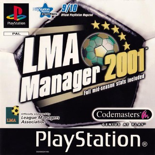 Review LMA MANAGER 2001 [PS1 EU : 1 Disc]
