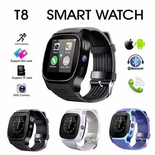 The best T8 Bluetooth Smart Watch With Camera Facebook Whatsapp Support SIM TF Card Call Smartwatch For Android Phone PK Q18 DZ09