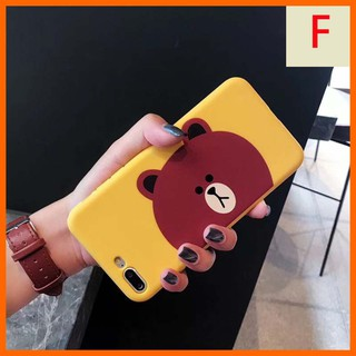 Image # 6 of Review Line Friends/Doraemon เคส iphone6 i7/8 tpu case iphone7/8 plus เคส tpu iphone6plus soft case iphoneX เคสไอโฟน
