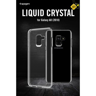 Review Samsung Galaxy A8 (2018) Spigen Liquid Crystal Case