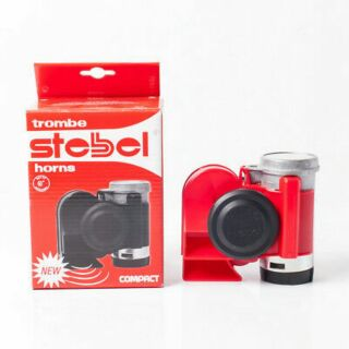 Review Stebel NAUTILUS COMPACT RED 12V แตรลมไฟฟ้า stebel