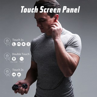 Image # 3 of Review 2019 NEW Havit G1pro Bluetooth Earphone Wireless TWS Sport Headset IPX6 Touch Screen Panel Earbuds With Microphone Bilat