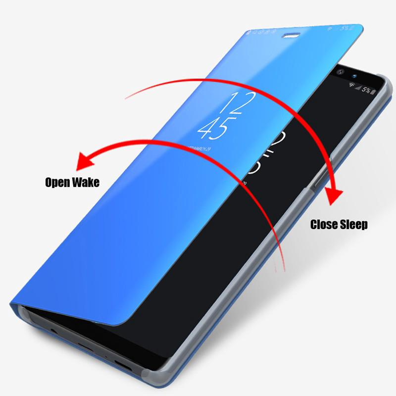 Review Xiaomi Mi 9 SE 9T Pro Case Clear View Smart Mirror Phone Cover